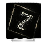 Lucky Number Seven Shower Curtain
