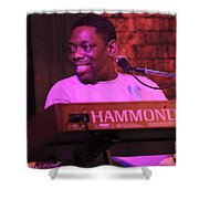 Lucky Peterson Shower Curtain