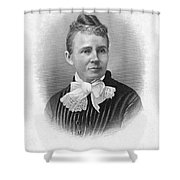 Lucretia Garfield (1832-1918) Shower Curtain