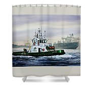 Lucy Foss Shower Curtain by James Williamson