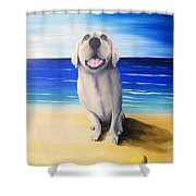 Lucy II Shower Curtain