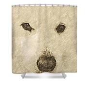 Lucy Silver Point Hp Shower Curtain