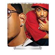 Ludacris Artwork Shower Curtain