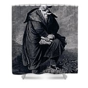 Ludwig Van Beethoven , German Composer Shower Curtain