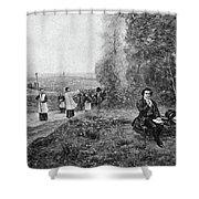 Ludwig Van Beethoven (1770-1827) Shower Curtain