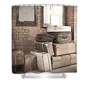 Luggage Cases Shower Curtain