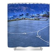 Lukla Airport Shower Curtain