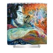 Lullabies For Nebulas Shower Curtain
