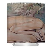 Lullaby Shower Curtain