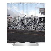 Lulu's Street  Shower Curtain