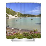 Lulworth Cove Shower Curtain