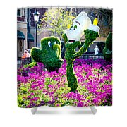 Lumiere And Chip Shower Curtain
