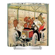 Lumina Geneve Shower Curtain
