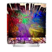 Luminosity  Shower Curtain
