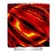 Luminous Energy 20 Shower Curtain