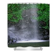 Luminous Falls Shower Curtain
