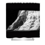 Luminous Waters V Shower Curtain