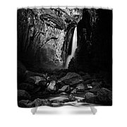 Lunar Glow Shower Curtain
