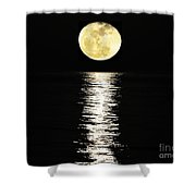 Lunar Lane 03 Shower Curtain by Al Powell Photography USA