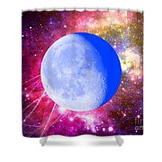 Lunar Magic Shower Curtain