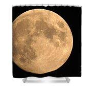 Lunar Mood Shower Curtain