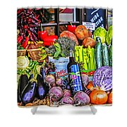 Lunch Anyone? Shower Curtain