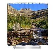 Lunch Creek  Shower Curtain