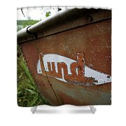 Lund Fishing Boat Shower Curtain