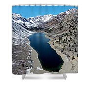 Lundy Lake Shower Curtain