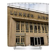 Lunken Airport In Cincinnati Ohio Shower Curtain