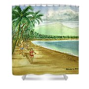 Luquillo Beach And El Yunque Puerto Rico Shower Curtain
