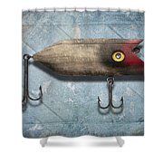 Lure II Shower Curtain