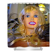 Luscious Lips Shower Curtain