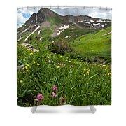 Lush Colorado Summer Landscape Shower Curtain