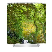 Luss Waters Shower Curtain
