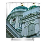 Lutheran Cathedral Of Helsinki-finland Shower Curtain