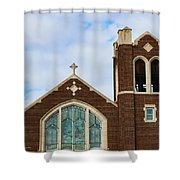 Lutheran Church Shower Curtain