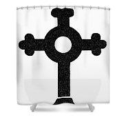 Lutheran Cross Shower Curtain