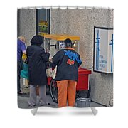 Lutherans Shower Curtain
