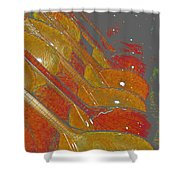 Lutherie Shower Curtain