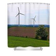 Luxemburg Views Shower Curtain