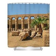 Luxor Egypt Shower Curtain