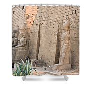Luxor Temple Shower Curtain