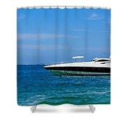Luxury Boat Shower Curtain by Aged Pixel