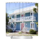 Luxury House  Shower Curtain