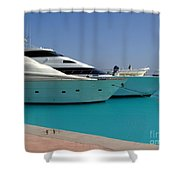 Luxury Yachts 04 Shower Curtain