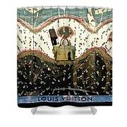 Lv Gold Bag 01 Shower Curtain