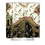 Lv Gold Bag 03 Shower Curtain
