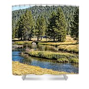 Lyell Canyon Shower Curtain