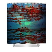 Lying Skies  Shower Curtain